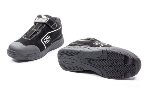 Simpson Safety PB105BK Pit Box Shoe Size 10.5 Black