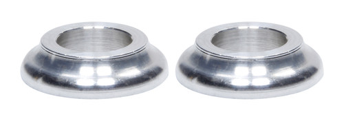Ti22 Performance 8220 Cone Spacers Alum 1/2in ID x 1/4in Long 2pk