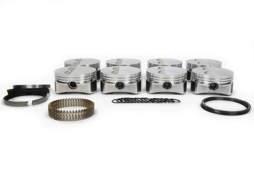 Wiseco-Pro Tru PTS525A3 SBC F/T Piston Set 4.155 Bore -5cc