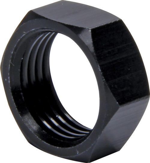 Ti22 Performance 8272-10 Jam Nuts 5/8-18 RH Thin OD Alum Black 10pk