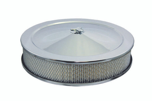 Specialty Products Company 4302 14x3 Air Cleaner Kit Flat Base Steel 5 1/8in
