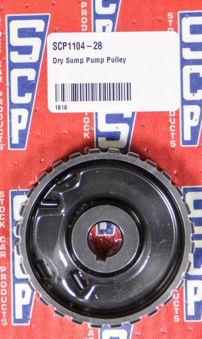 Stock Car Prod-Oil Pumps 1104-28 Dry Sump Pump Pulley