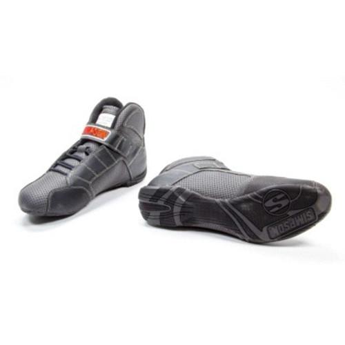 Simpson Safety RL105K-F Red Line Shoe Size 10.5 Black FIA