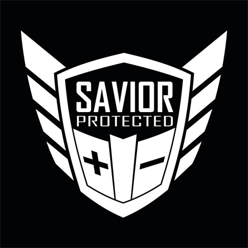 Savior Products SAVIOR-DECAL-W Savior Window Decal Each White