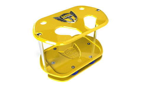 Savior Products SC-O34-Y Savior Show Case Yellow Optima Group 34 Battery