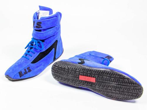 Rjs Safety 500010356 Redline Shoe High-Top Blue Size 10 SFI-5