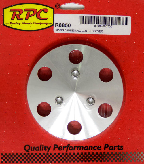 Racing Power Co-Packaged R8850 Aluminum A/C Clutch Cover