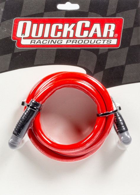 Quickcar Racing Products 40-481 Coil Wire - Red 48in HEI/HEI