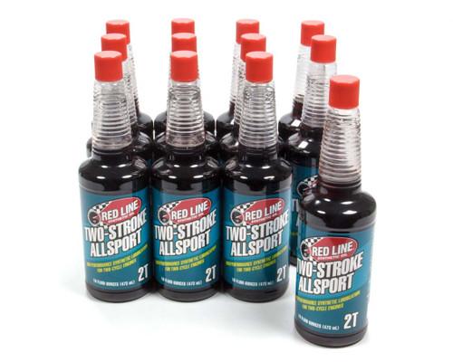 Redline Oil 40823 Two Stroke Allsport Oil Case 12 x 16oz