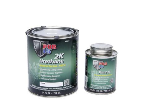 Por-15 43504 2K Urethane Clear  Quart
