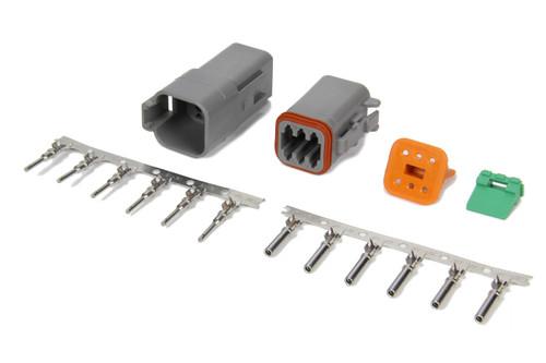 Msd Ignition 8180 Deutsch 6-Pin Connector