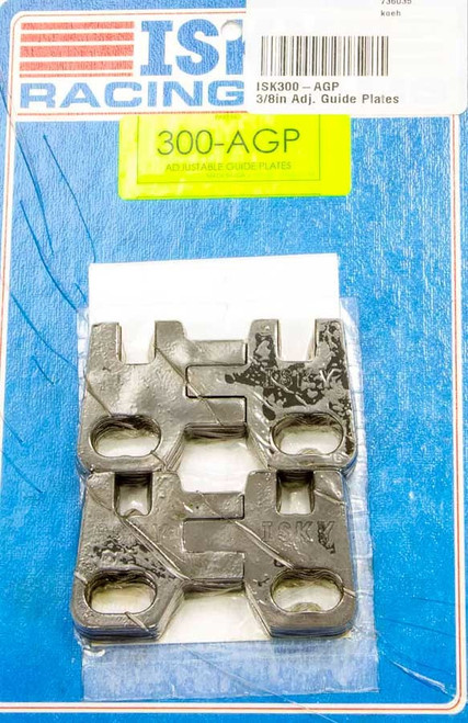 Isky Cams 200-AGP 5/16in Adj. Guide Plates