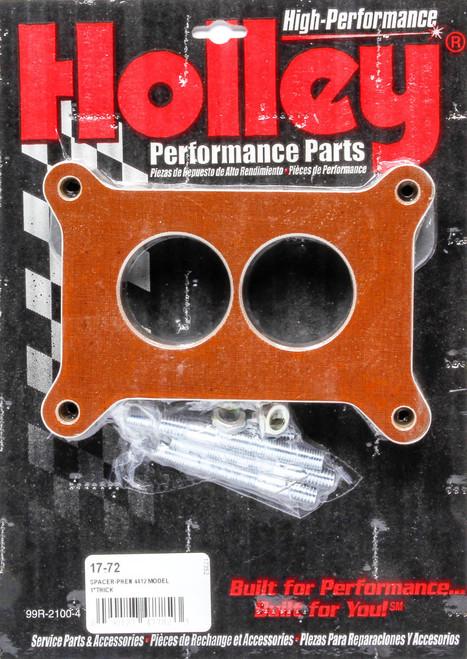 Holley 17-72 1in Carburetor Spacer 2300 Flange
