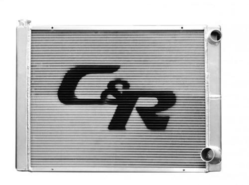 C And R Racing Radiators 915-26190 Radiator LW Chevy 19x26 Dual Pass