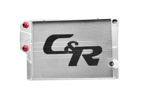 C And R Racing Radiators 918-30191 Radiator LW Chevy 19x30 Dual Pass w/ Heat Exchgr