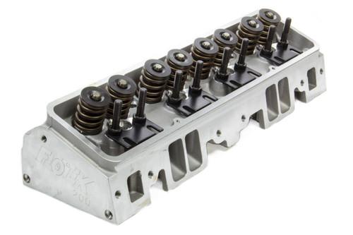 Flo-Tek 101505 SBC 180cc Alum Cyl Head 64cc 2.02/1.60 A/P Assm