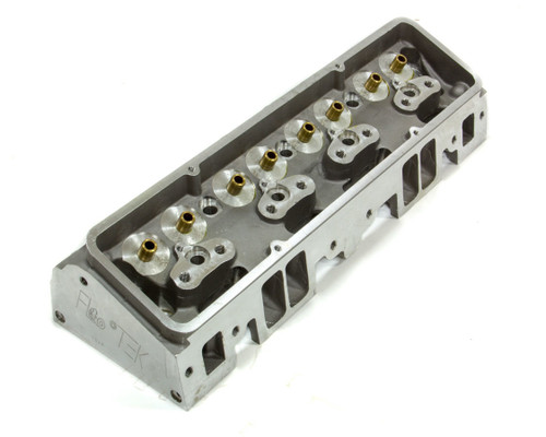 Flo-Tek 102500 SBC 180cc Alum Cyl Head 64cc 2.02/1.60 S/P Bare
