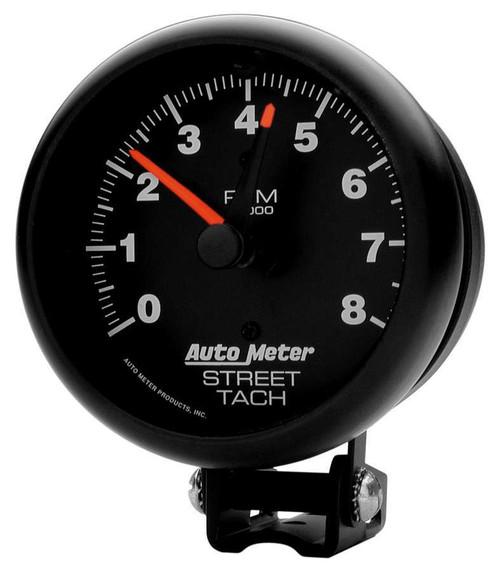 Autometer 2894 8000 Rpm Black Tach