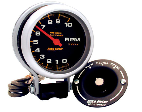 Autometer 6601 3-3/4in Memory Tach