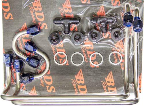 Blower Drive Service PL-9712 Dual Carb Fuel Line Kit Double Pump - Side Mnt.