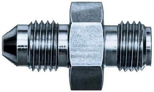 Aeroquip FCM2925 #4 To 7/16-20 Inverted Steel Adapter