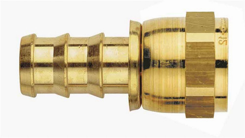 Aeroquip FBM1222 #6 Brass 37d Swivel