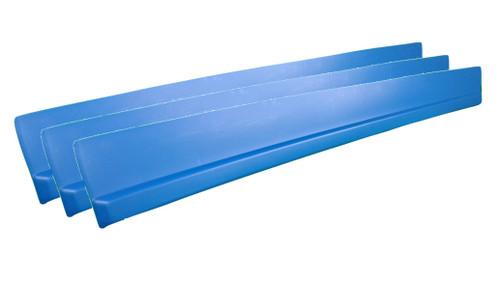 Dominator Racing Products 1100-BL Dirt Rocker Set Blue 3pc