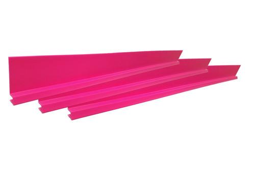Dominator Racing Products 1100-PK Dirt Rocker Set Pink 3pc