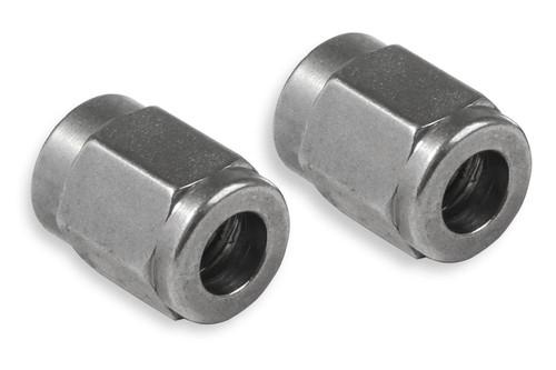 Earls SS581803ERL #3 Tube Nut  Stainless Steel 2pk