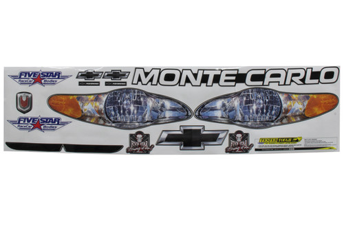 Fivestar 630-410-ID Nose Only Graphics 00-05 Monte Carlo