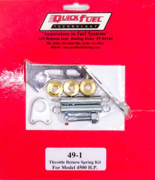 Quick Fuel Technology 49-1 Throttle Return Spring Kit - 4500HP