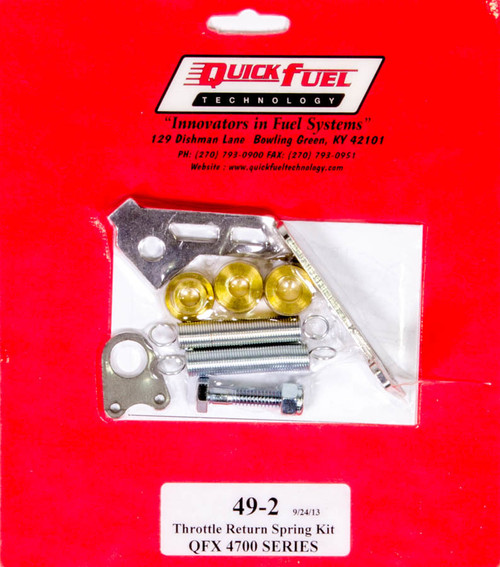 Quick Fuel Technology 49-2 Throttle Return Spring Kit - QFX Carbs