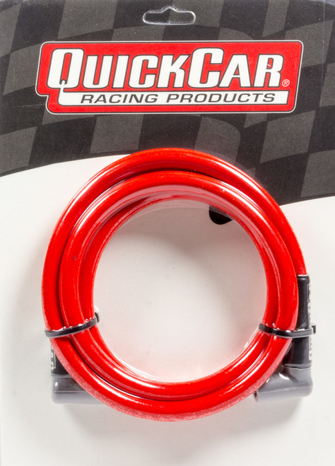 Quickcar Racing Products 40-601 Coil Wire - Red 60in HEI/HEI