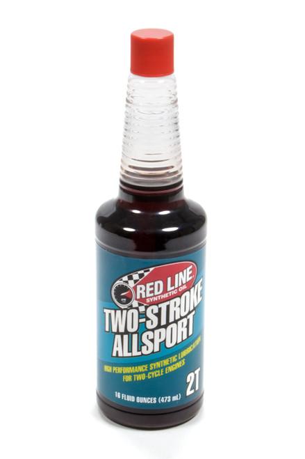 Redline Oil 40803 Two Stroke Allsport Oil 16oz
