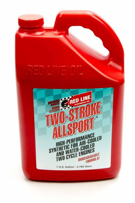 Redline Oil 40805 Two Stroke Allsport Oil 1 Gallon