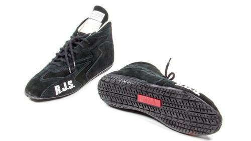 Rjs Safety 500020152 Redline Shoe Mid-Top Black Size 6 SFI-5