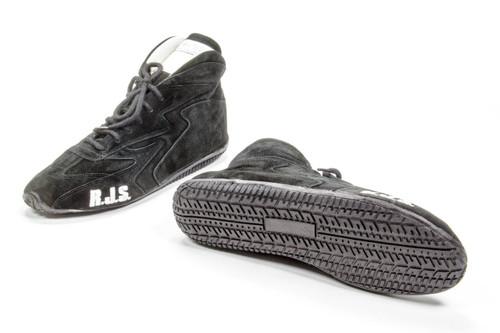 Rjs Safety 500020156 Redline Shoe Mid-Top Black Size 10 SFI-5