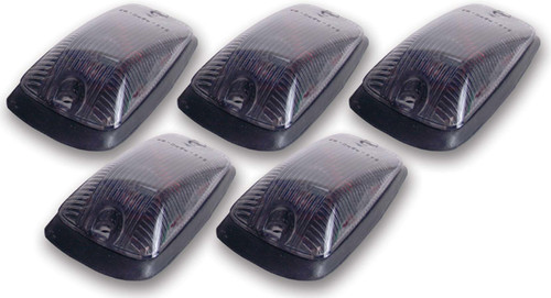 Pacer Performance 20-220S Cab Roof Lights Smoke 88-02 GM P/U Non LED