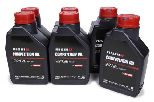 Motul Usa 102500-6 Nismo Competition Oil 15w50 Case 6 x 1 Liter