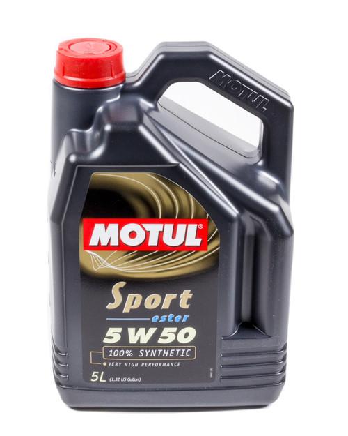 Motul Usa 102716 Sport 5w50 5 Liter