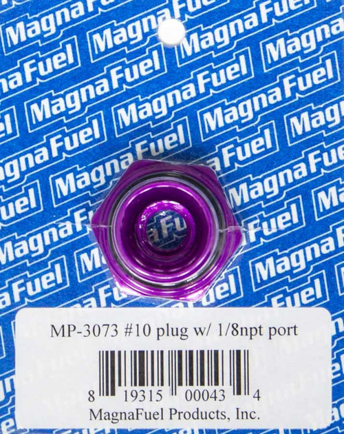 Magnafuel/Magnaflow Fuel Systems MP-3073 #10 O-Ring Port Plug w/1/8in NPT in Center