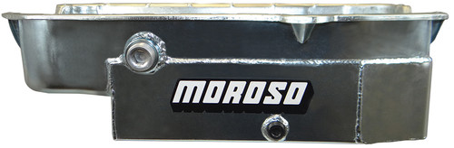 Moroso 21325 SBC 8qt CT Oil Pan - LH Dipstick