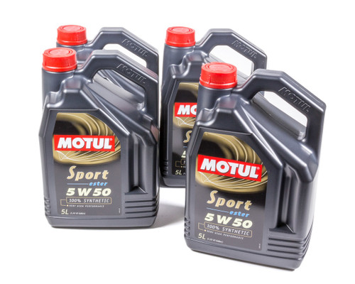 Motul Usa 102716-4 Sport 5w50 Case 4x5 Liter