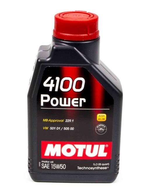 Motul Usa 102773 4100 Power 15W50 Oil 1 Liter