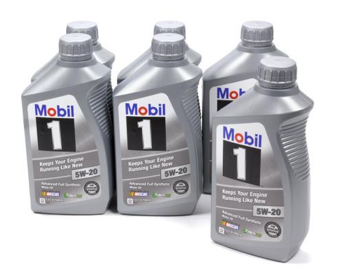 Mobil 1 103008 5w20 Synthetic Oil 6x1 Qt