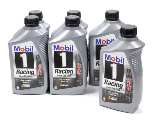 Mobil 1 104145 0w50 Racing Oil Case 6x1 Qt