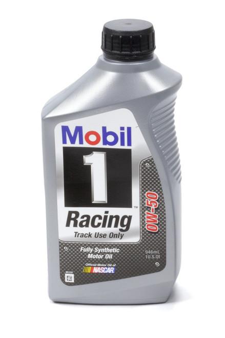 Mobil 1 104145-1 0w50 Racing Oil 1 Qt