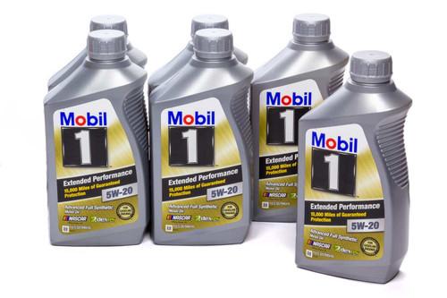 Mobil 1 102989 5w20 EP Oil Case 6x1Qt Bottles
