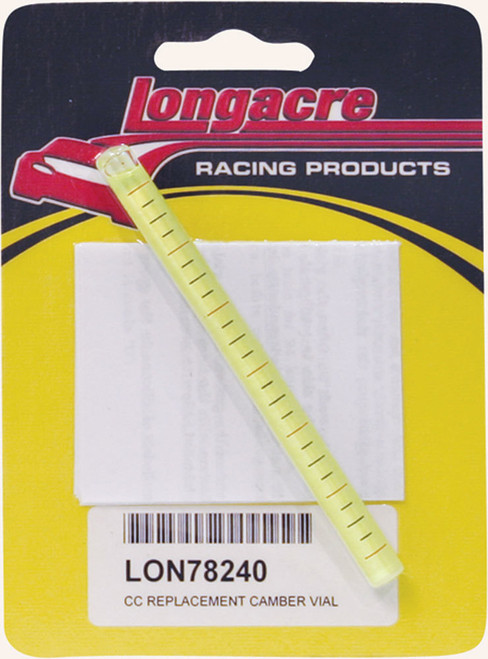 Longacre 52-78240 Replacement Camber Vial