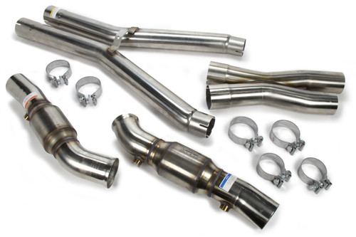 Kooks Headers 21603211 X-Pipe Catted w/Mid 3in 09-13 Corvette 6.0/6.2L